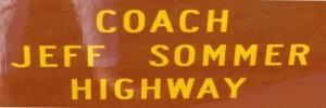 Coach Jeff Sommer Memorial Highway