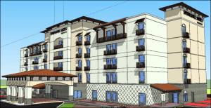 100-room hotel