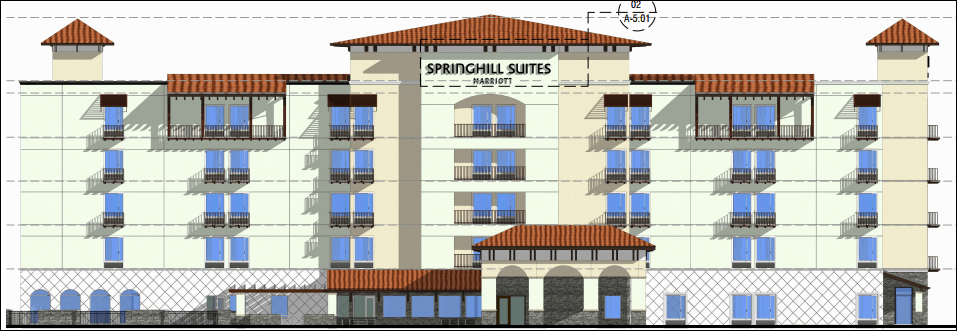 Marriott springhill suites and university self storage for Springhill designs