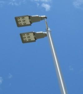 photo of street lights