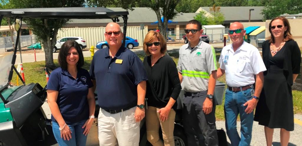 Shadow Wood CC helps Three Oaks Elementary