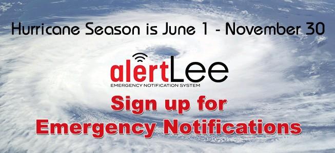 Sign Up for AlertLee.org